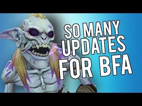 Huge BFA Updates! (So Much Information!) - PvP WoW Legion 7.3.5