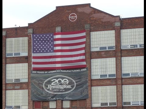 A Visit with Remington Arms Ilion, NY & Huntsville, AL