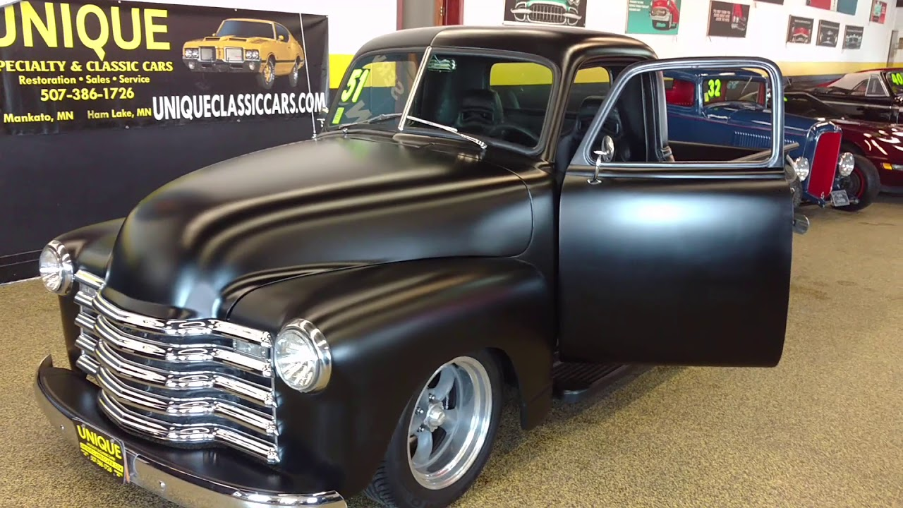 1951 Chevrolet 3100 Art Morrison Chassis Supercharged Lsa Crate Police Car Engine