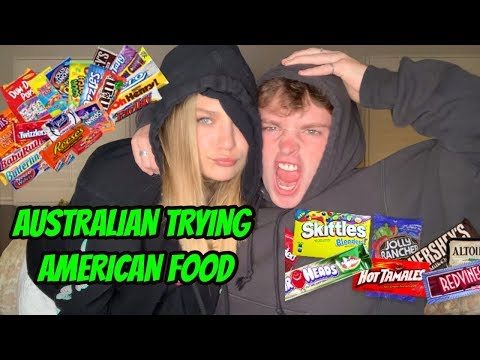 australian trying american food // with maddie ziegler