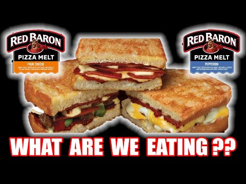 How Good are Red Baron's NEW Pizza Melts