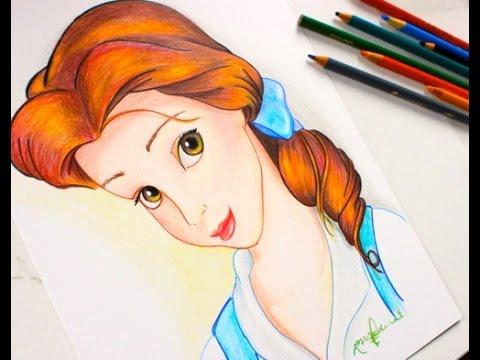 Drawing PRINCESS BELLE
