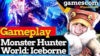 Monster Hunter World Iceborne: Hands On + Präsentation der Entwickler | gamescom 2019