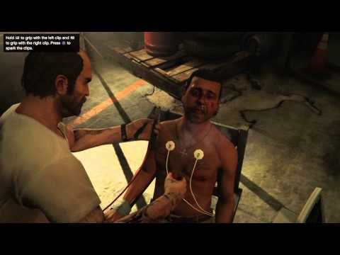 Grand Theft Auto V - torture by water & electricity