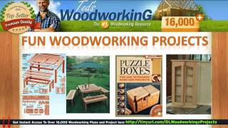 Building Wood Projects - Fun Woodworking Projects