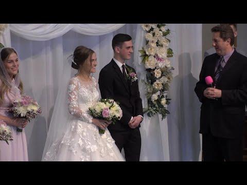 5/19/2019 - Воскресное Богослужение. Бракосочетание Василия Кузьменко и Марины Аненковой.