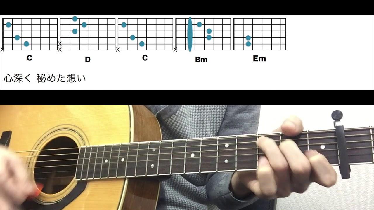 コード譜 クリスマスイブ - 山下達郎 ギターコード - YouTube