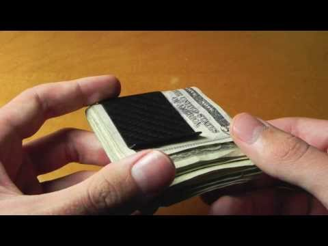 KOOLSTOF Carbon Fiber Money Clip by CarbonFiberDesigns (Review)