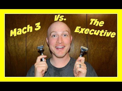 "Dollar Shave Club ""The Executive"" Vs. Gillette ""Mach 3"""