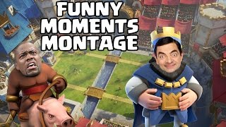 CLASH OF CLANS & CLASH ROYALE FUNNY MOMENTS MONTAGE || Clutches & Fails Compilation #5