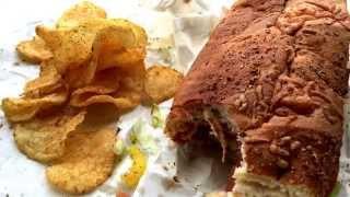 Asmr Subay Italiano Melt W/salami, Pepperoni, Ham, Jalapeño Loud Eating