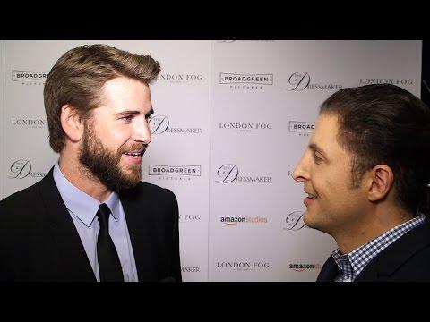 "Liam Hemsworth on ""The Dressmaker"" Red Carpet Behind The Velvet Rope with Arthur Kade"