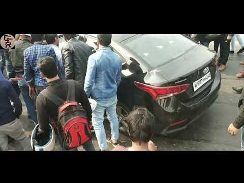 HYUNDAI VERNA ACCIDENT | DRIVER SAFE???🔥🔥