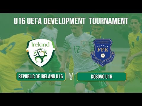 Highlights: Republic of Ireland U16 2-1 Kosovo U16