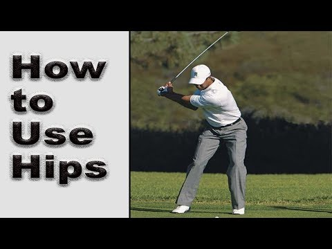 How to Use the Hips in the Golf Swing in Detail