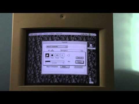Macintosh Color Classic Mic. Test