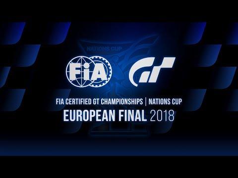 [German] FIA GT Championships 2018 | Nations Cup | European Final | World Finalist Selection Match