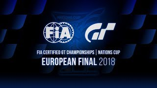 [German] FIA GT Championships 2018 | Nations Cup | European Final | World Finalist Selection Match