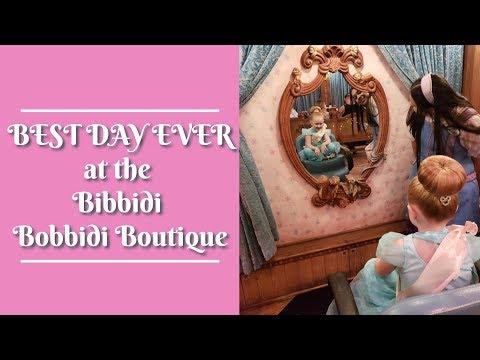 BEST DAY EVER At The Bibbidi Bobbidi Boutique At Disneyland | Princess Jasmine Transformation