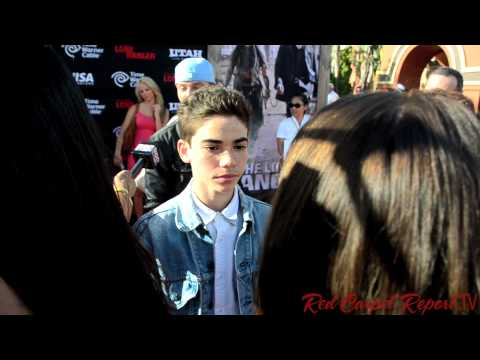 Cameron Boyce at the World Premiere of The Lone Ranger @TheCameronBoyce