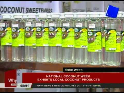National Coconut Week exhibits local coconut products