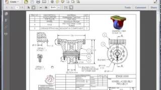 SolidWorks -  Assembly Drawing: Part I