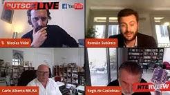 Débat Putsch Live : Régis de Castelnau, Carlo Brusa et Romain Subirats