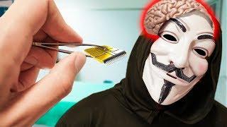 LE QUITAMOS UN CHIP AL HATER DE LA MANSIÓN *Descubrimos el secreto del Hacker Supremo De Youtube*