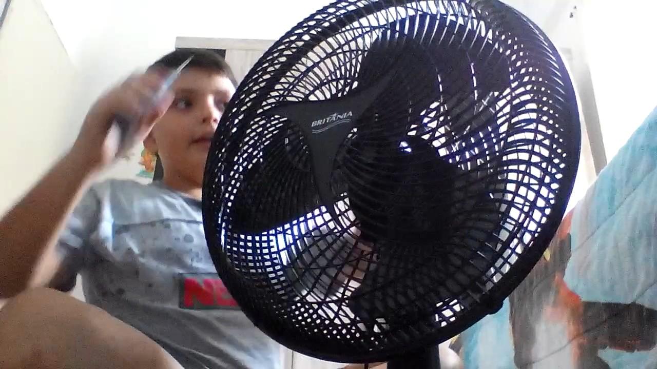 12f962044 como se desmontar ventilador Britânia ventus 40 - YouTube