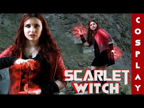 Scarlet Witch Costume Diy Youtube