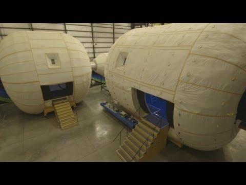 Go inside a future space home