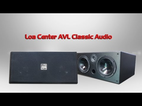 Loa Center Chuyên Dụng Cho Karaoke, AVL Classic Audio