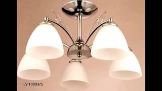 Современные потолочные люстры и светильники евросвет: фото и видео