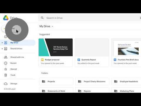 How to: Create a new folder in Google Drive