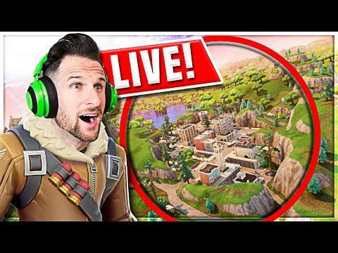 *NEW* Map UPDATE is LIVE!! FORTNITE: BATTLE ROYALE!