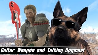 Fallout 4 Mods Week 61 - Guitar Weapon and Talking Dogmeat
