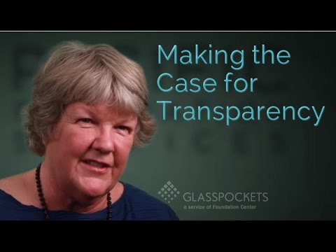 Glasspockets: Mary Gregory, Pacific Foundation Services