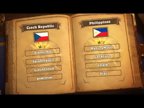 Czech Republic vs Philippines - Group H - Match 1 - Hearthstone Global Games
