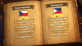 Czech Republic vs Philippines - Group H - Match 1 - Hearthstone Global
