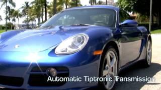 2007 Porsche Cayman S Cobalt Blue Metallic