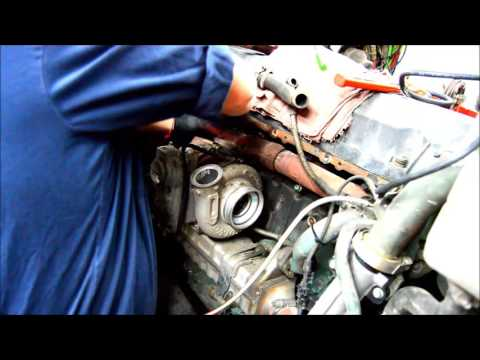 2010 Volvo D13 oil cooler cover - YouTube