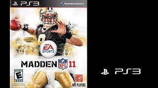 Madden NFL 11 (Sony Playstation 3) Packers vs Steelers (Gameplay) The PS3 Files