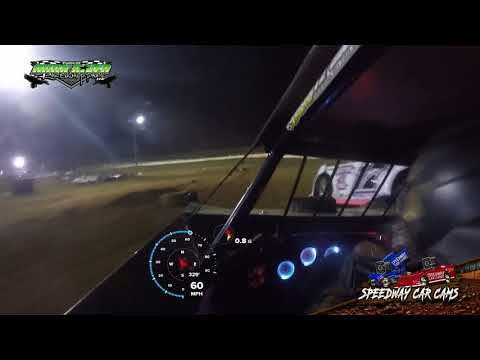#61 Caleb Ashby - Super Late Model - 9-2-18 Duck River Raceway Park - In Car Camera
