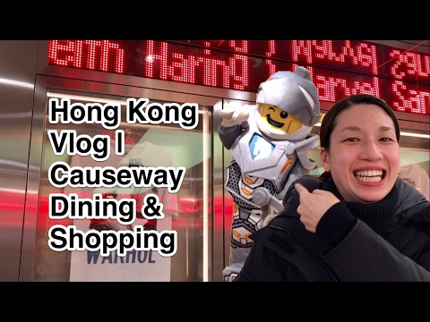 HONG KONG VLOG 47 | Causeway Bay Dining & Shopping