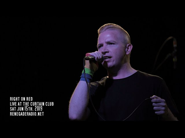 Right on Red live at the Curtain Club Jun 15th, 2019