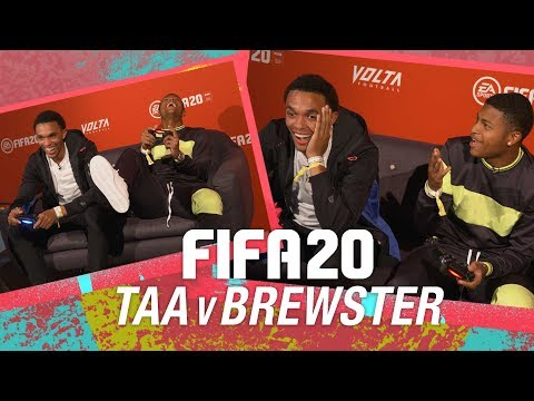 FIFA 20 Premiere: Trent Alexander-Arnold v Rhian Brewster | 'THAT RIGHT BACK SCORED!'