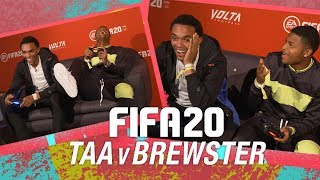 FIFA 20 Premiere Trent Alexander-Arnold v Rhian Brewster  THAT RIGHT BACK SCORED