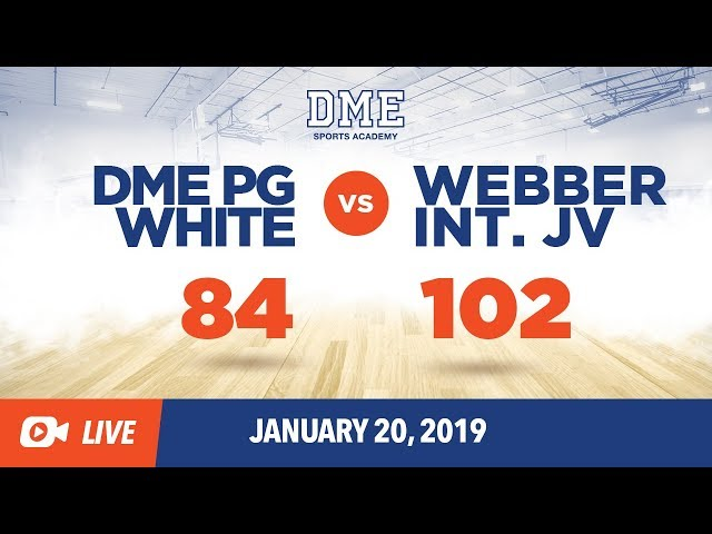 DME PG White vs Webber International JV