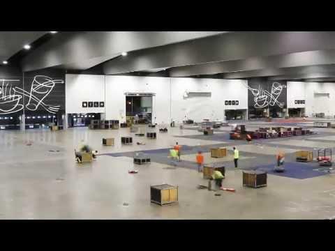 AusRAIL PLUS 2015 Exhibition Build - Time Lapse