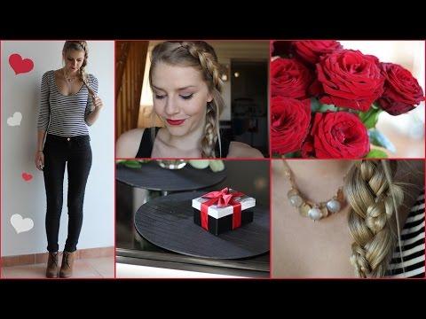 Maquillage et coiffure st valentin